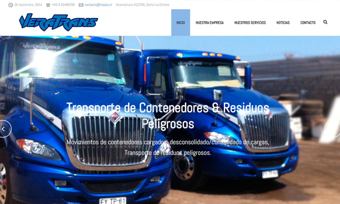 VeraTrans Inaugura su Nuevo Sitio Web!